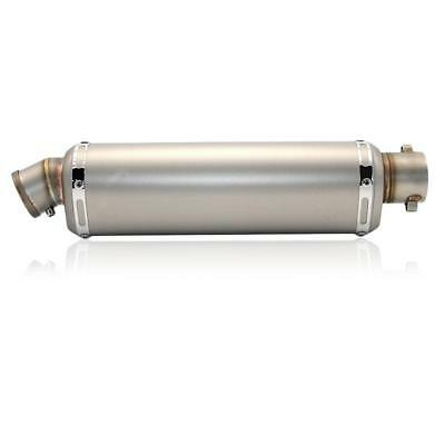 Universal Motorcycle Carbon Exhaust Muffler Pipe Removable Dirt Street Bike