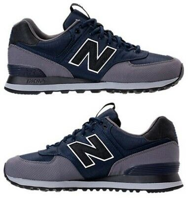 buy popular 405dc 0b48f NEW BALANCE 574 OUTDOOR ESCAPE MEN's SUEDE CASUAL NAVY - GREY AUTHENTIC US  SIZE