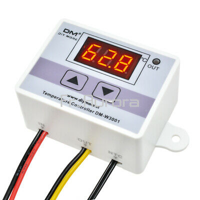 DM-W3001 220V 10A Digital LED Temperature Controller Thermostat Control Switch