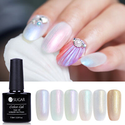 7.5ml UR SUGAR Nail UV Gel Polish Glitter Chameleon Pearl Soak Off Nail Art