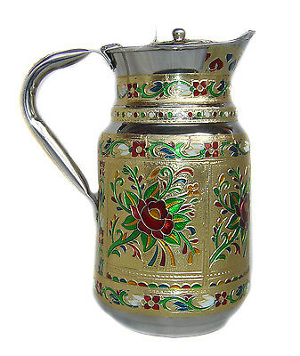 Pitcher Stainless Steel Jug decorated Pitcher Juice water Cold drink coffee tea