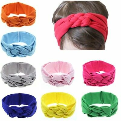 Kids Baby Girl Toddler Solid Headband Hair Band Accessories For Infant Headwear