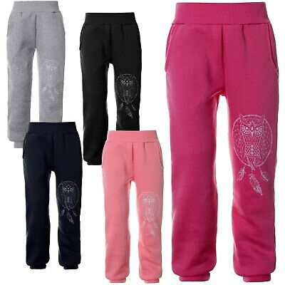 Kinder Mädchen Jogging Sport Freizeit Trainings Hosen 21671 Sale