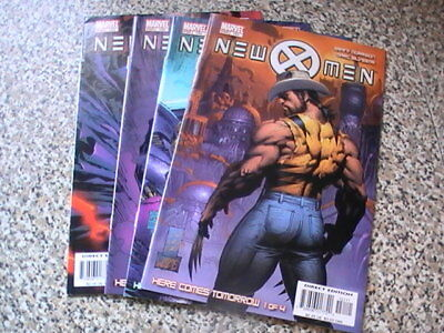 New X-Men : Here Comes Tomorrow Parts 1 - 4