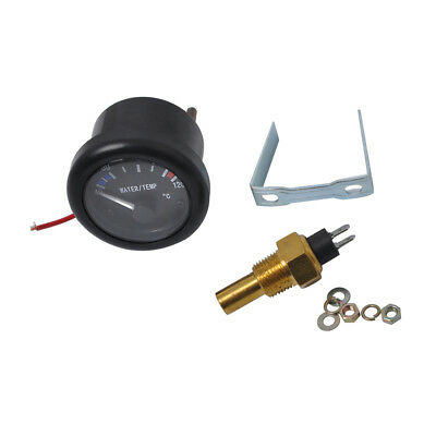 "52mm 2"" Marine Boat Water Temp Gauge Meter with Temperature Sensor"