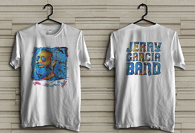 1991 Vintage Jerry Garcia Band Mens T-Shirt Concert Tour Grateful Dead, S - Xxl