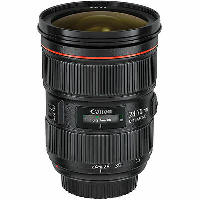 NEW Canon EF 24-70mm f/2.8L II USM Lens UK NEXT DAY DELIVERY
