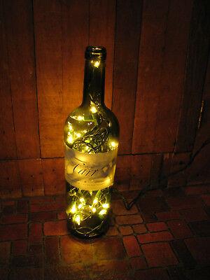 Joseph Carr Cabernet Wine Bottle Electric Wired Lighted