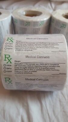 10 to 1000 RX Medical Labels for Squeeze tops and Pop Tops UK listing