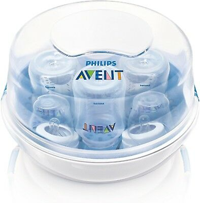 Philips AVENT Microwave Steam Bottle Sterilizer New in Box