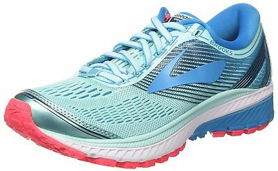 Brooks Womens Ghost 10 Road Running Shoes, Turquoise