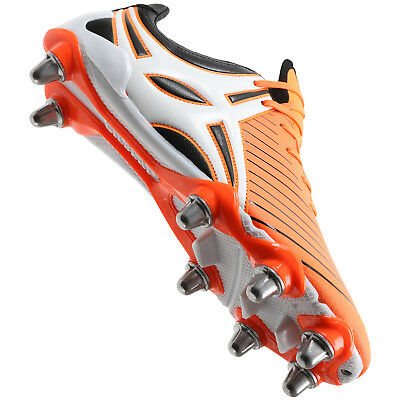Clearance Line New Gilbert Rugby Evolution MK 2 Rugby Boots Orange Size 15