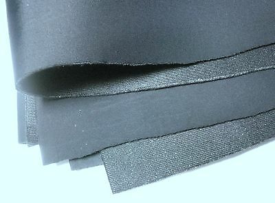 Bra Making Cut and Sew Foam. Bra Padding Fabric. Black Colour. 4mm Width