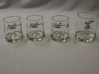 BC Comic Glasses lot 4 - 3 DOF glasses, Anteater, 1 wheel, Johnny Hart, B.C.