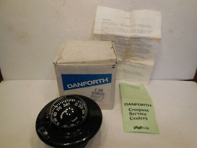 Danforth C-379 Standard Corsair Ii Boat Compass - New Old Stock - Priced 2 Sell