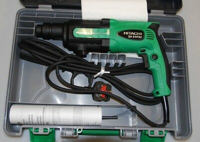 Hitachi DH24PB2 SDS Plus Rotary Hammer 240V Power Tool In Case