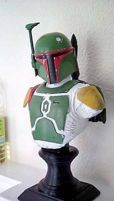 boba statue 3d printed and painted