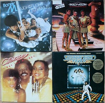 Boney M, Imagination, Odyssey & Saturday Night Fever (Bee Gees)
