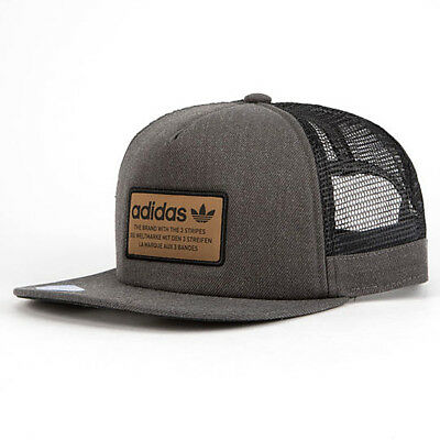d04fab7594c ADIDAS Originals Patch Trucker hat cap Thrasher Trefoil Snapback relaxed  logo