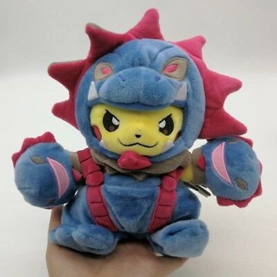 NEW Pokemon Center Original Plush Doll Pikachu Hydreigon Mania Japan