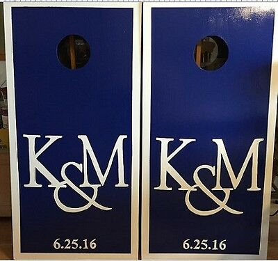 Wedding Boards (Personalized) Custom Made Cornhole boards and Free Bags