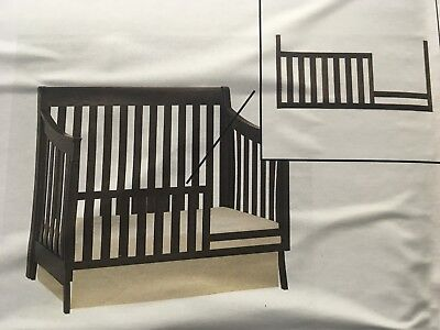 Baby Cache - Hudson -Guard Rail Conversion Kit - (Slate Color) 5375 SLT