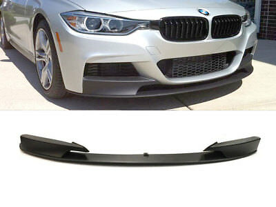 Fits 12-18 BMW F30 3 Series M PERFORMANCE STYLE FRONT BUMPER Spoiler LIP PP