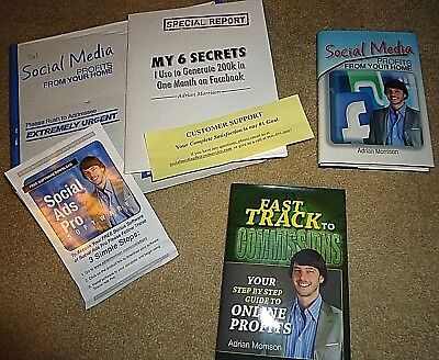 Fast Track to Commissions & Social Media Profits from Your Home,Adrian Morrison