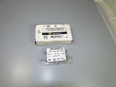 Square D Auxiliary Contact, Class 9999, type D11, for 9810 DPA contactors, NEW