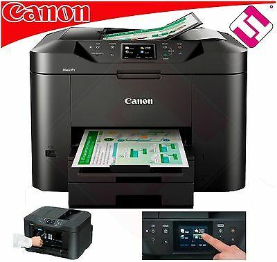 Multifunction Printer Canon Colour Maxify Mb2750 Fax Adf Wifi Cloudlink Ethernet