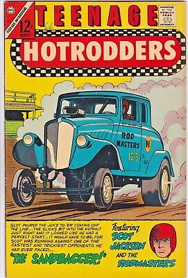 Teenage Hotrodders # 19 Charlton - Jack Keller - Racing Cars