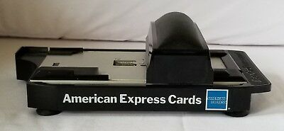 Vintage Manual Credit Card Imprinter Addressograph American Express Branded