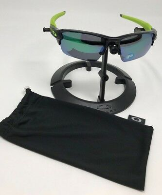 1bd3cff79d Oakley OO9188-09 POLARIZED FLAK 2.0 XL Black Ink Jade Iridium Polarized