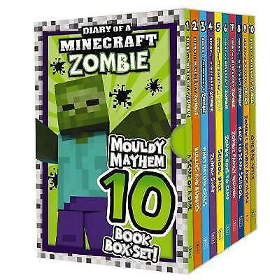 Diary Of A Minecraft Zombie: Mouldy Mayhem 10 Book Box Set! By Zack Zombie