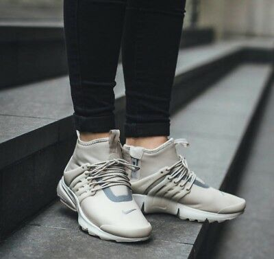 d5d869608e30 8 Women s Nike Air Presto Mid Utility Reflective running casual 859527 200  beige