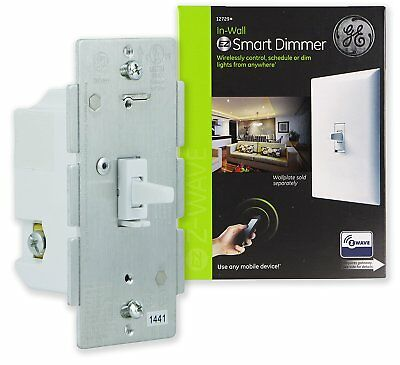GE Z-Wave Wireless Smart Lighting Switch Smart Dimmer Work with Alexa OPENED BOX
