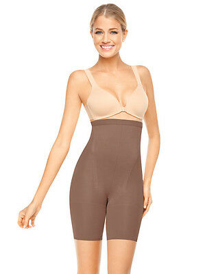 SPANX Super High Footless Shaper In-Power Line Footless Tummy Control Nude1 Sz B