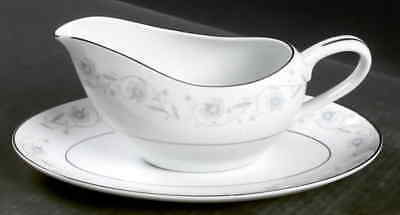 Fine China of Japan English Garden 1221 Gravy boat with underplate