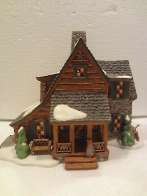 D56 - New England - Mountain View Cabin - 25Th Anniv  2000  In Org Box & Packing