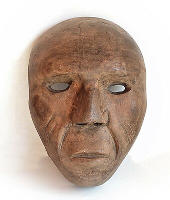 Vintage Mexican or Guatemalan or Eskimo Mask Estate Collection