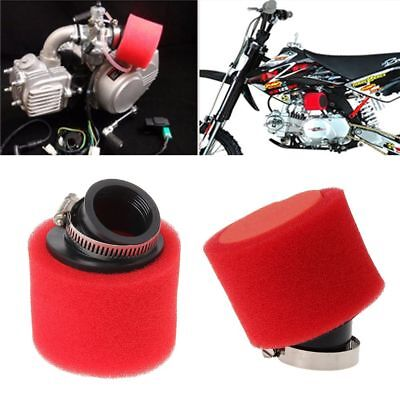 38mm 110cc 125cc ATV PIT DIRT BIKE 45° Double Foam Angled Air Filter Pod Cleaner