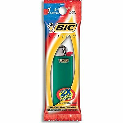 Bic Classic Disposable Lighter, Colors May Vary  (Pack of 2)