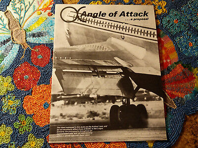 1968 Vintage Aer Lingus BOAC Angle of Attack Proposal Info Booklet Collectible