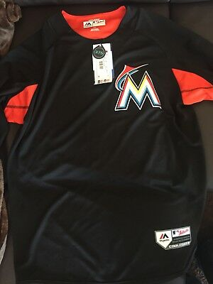 MLB Miami Marlins schwarz orange/rot