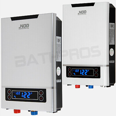 27KW Fast Heating Electric Tankless Water Heater -  Instant Endless Hot Water