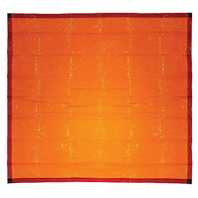 Bossweld WELDING CURTAIN Fire Retardant ORANGE- 1.8x2.7m, 1.8x3.4m Or 1.8x4.1m