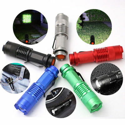 15000LM LED Tactical Flashlight Torch AA/14500 Camping Flash Lamp Light Lantern