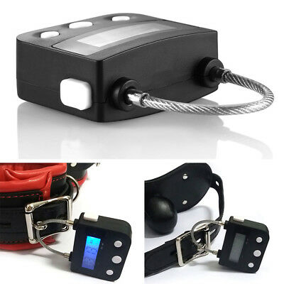 Multipurpose Time Lock Waterproof  USB Rechargeable Time Switch Lock Padlock NEW