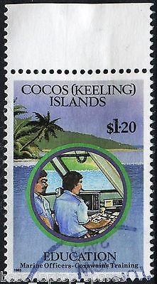 1993 Coco's (Keeling) Education on Cocos - $1.20 Marine Used