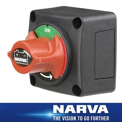Narva Battery Master Switch Rotary Style Weather resistant 61082BL